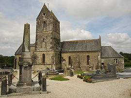 The church of Saint-Cyr-et-Sainte-Julitte