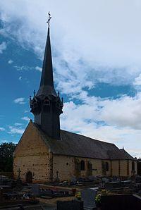 Église Saint-Martin de Cintray, vue sud ouest.jpg