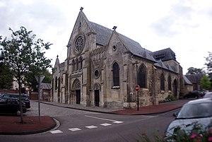 La Fère - The church of La Fère