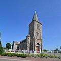 Église Saint-Pierre et Saint-Paul du Mesnil-Amand. Vue nord-ouest.jpg