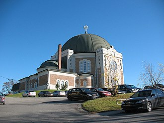Amos, Quebec - The Amos Roman Catholic Cathedral