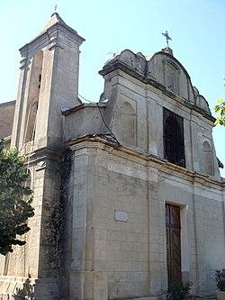 Église de Pietroso, façade et clocher.jpg