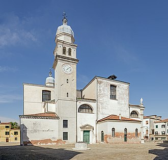 Angelo San Raffaele, Venice - Image: Église dell'Angelo Raffaele Campo dietro il Cimitero