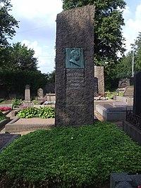 Östra kyrkogården i Göteborg, den 17 aug 2006, Albert Ulrik Bååths grav.JPG