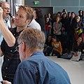 Øyvind Torseter, Bjørn Ousland, David Boller und Joscha Sauer mit Wolle Strzyz auf der Frankfurter Buchmesse 2019, 07.jpg