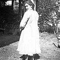 """Ženski """"kožuh"""", Planina. Nosila ga je stara mati, roj. 1854 v Gorjah pri Cerknem 1954 (2).jpg"""