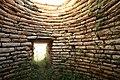 Μυκηναϊκού τύπου θολωτός τάφος, το εσωτερικό. - panoramio.jpg