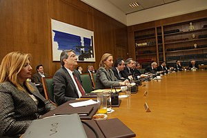 Cabinet of Greece - Meeting of the Greek cabinet Papandreou, 2011
