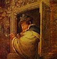 Адриан ван Остаде. Мужчина в окне.jpg
