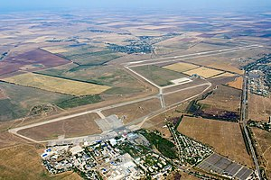 Simferopol International Airport - Simferopol Airport from above