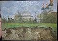 А. Н. Пастушенко. Пейзаж с церковью.jpg