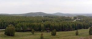 Toguchinsky District - Bugotaksky hills, Toguchinsky District