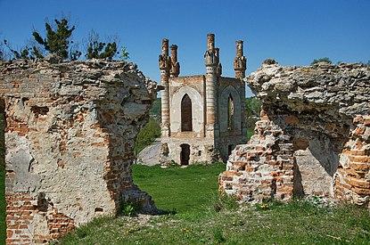 Вид на каплицю з новомалинського замку.jpg