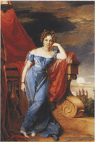 А.Ф.Закревская, 1823г.
