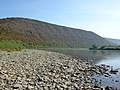 Дністровський каньйон - Вигляд із Дністра на Червону гору - 09093553.jpg