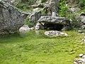 Каменна къщичка в р. Сапдере, Вкаменена гора.jpg