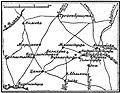 Карта к статье «Денневиц». Военная энциклопедия Сытина (Санкт-Петербург, 1911-1915).jpg