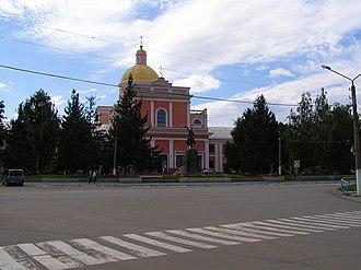 Tulchyn - Image: Костьол Тульчин вул. Леніна,41