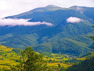Bieszczady Mountains Mountain range in Poland, Slovakia, and Ukraine