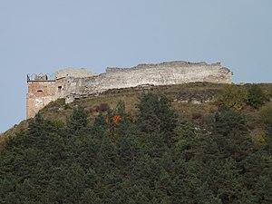 Kremenets Castle - Image: Руїни замку 2