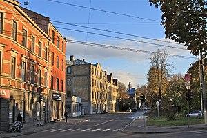 Torņakalns - Bauska street in Torņakalns