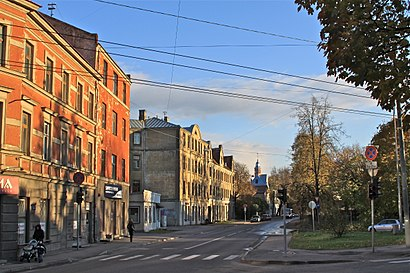 How to get to Torņakalns with public transit - About the place
