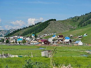 Ust-Kan, Altai Republic Rural locality and the administrative center of Ust-Kansky District of the Altai Republic, Russia