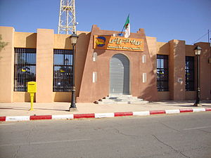 Taghit - Post office of Taghit