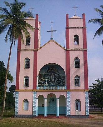 Our Lady of Lourde's Church (Pallikkunnu Church) - Old Church