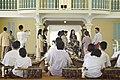 นางพิมพ์เพ็ญ เวชชาชีวะ ภริยา นายกรัฐมนตรี นำคู่สมรสผู้ - Flickr - Abhisit Vejjajiva (74).jpg