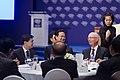 นายกรัฐมนตรีเข้าร่วมการหารือระหว่างรับประทานอาหารกลางว - Flickr - Abhisit Vejjajiva (5).jpg
