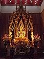 พระประธาน วัดราชบุรณราชวรวิหาร Principal Buddha.jpg