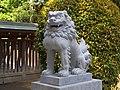 上染屋八幡神社の狛犬 府中市白糸台1丁目 2013.5.17 - panoramio.jpg