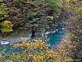 秋の抱返り渓谷 (Dakigaeri Gorge in autumn) 02 Nov, 2013 - panoramio.jpg