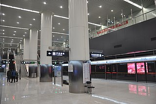 Tongzhou Beiguan station Beijing Subway station