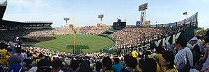 阪神甲子園球場-一塁アルプス上段より 2014-05-31 17-42.jpg