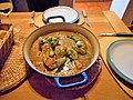 -2015-10-30 Sautéed chicken with forty cloves of garlic, Trimingham (2).JPG