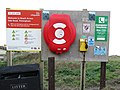 -2019-02-11 Notice board, Trimingham Beach, Norfolk.JPG