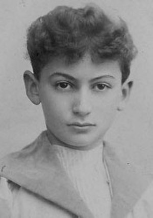 Joseph Achron - Achron as a youth