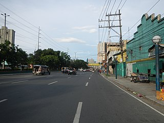 Gil Puyat Avenue road in the Philippines