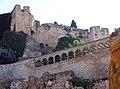 016 El castell de la Suda des de la plaça de Sant Jaume (Tortosa).JPG