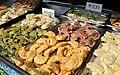 02015 Gefüllte Teigtachen mit Hackfleisch, Sauerkirschen, Kartofeln, Lachs, Pilze, Sauerkraut, getrocknetes Obst, Blaubeeren, Quark 0583.JPG