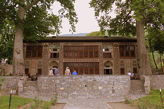 Palace of Shaki Khans - External view of the Palace