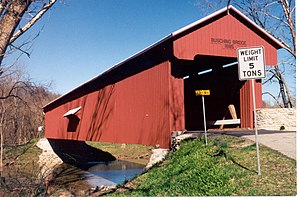 Versailles State Park - Busching Covered Bridge