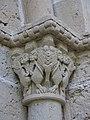 052 Monestir de Sant Benet de Bages, capitell del portal de l'església.jpg