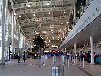 Princess Juliana International Airport - Terminal interior