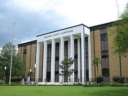 Calhoun Countys domstolhus i Blountstown.