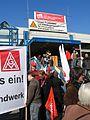 1. Mai 2013 in Hannover. Gute Arbeit. Sichere Rente. Soziales Europa. Umzug vom Freizeitheim Linden zum Klagesmarkt. Menschen und Aktivitäten (008).jpg