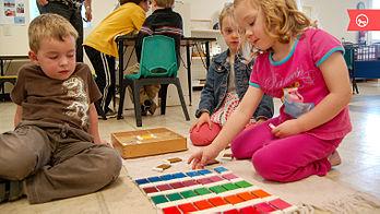 Взгляды м.монтессори на обучение и воспитание детей.