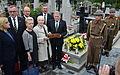 10. Reiterschützenregiment. 0529 Zweite Polnische Republik Grabmal von Mikołaj Minkusz 0498, Bielitz, Bielsko-Biała.JPG